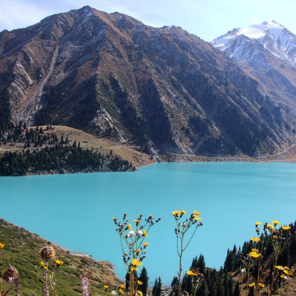 Image of the Big Almaty Lake