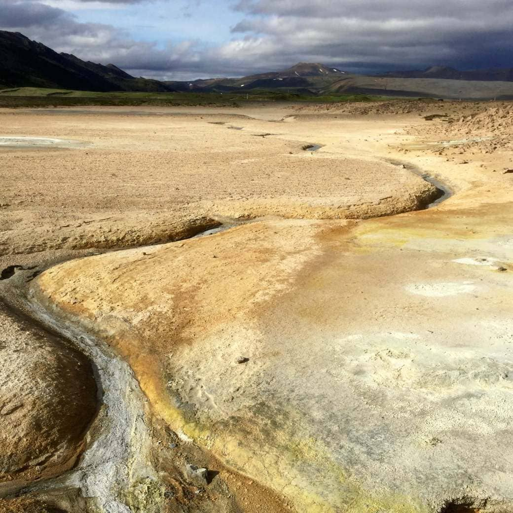 Image of Hverir geothermal field