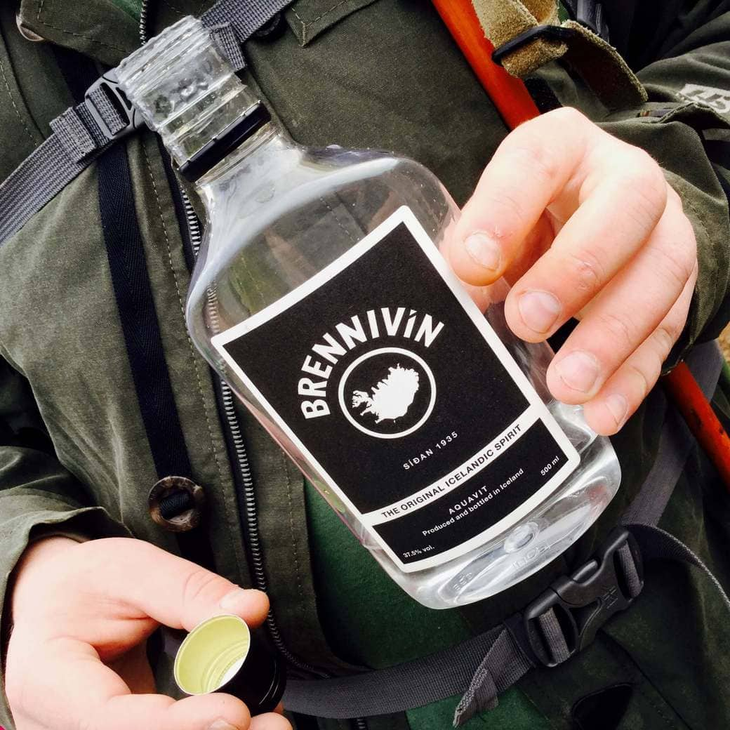 Image of Brennivin bottle