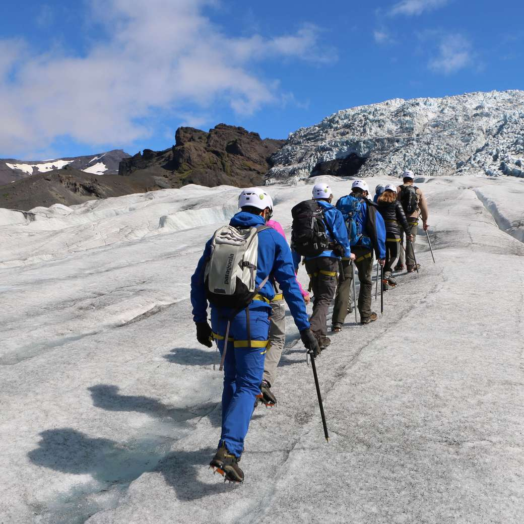 Image of glacier walk