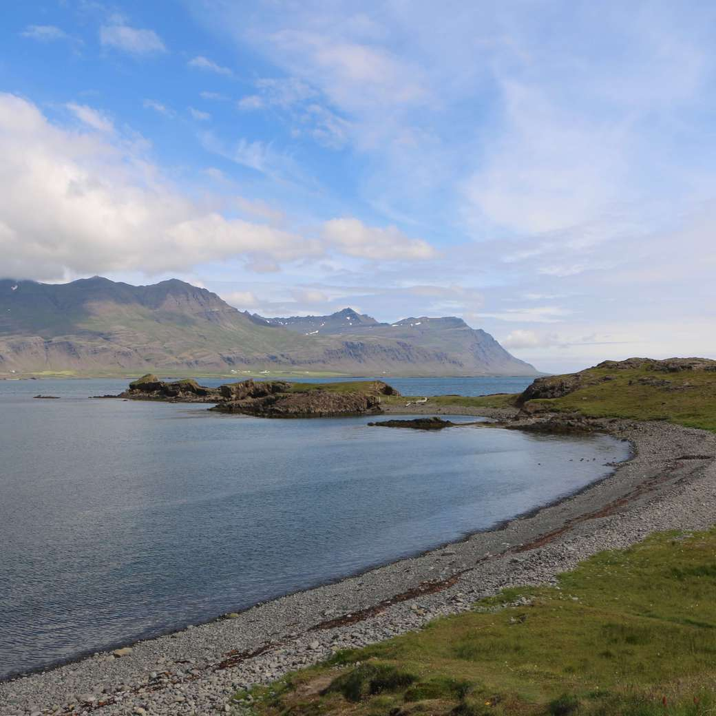 Image of scenery in East Iceland