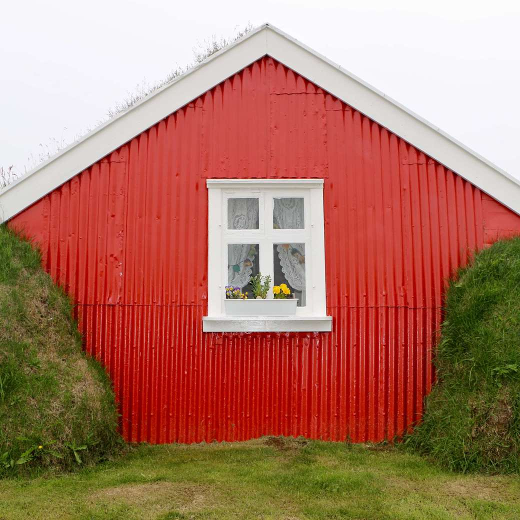 Image of a turf house