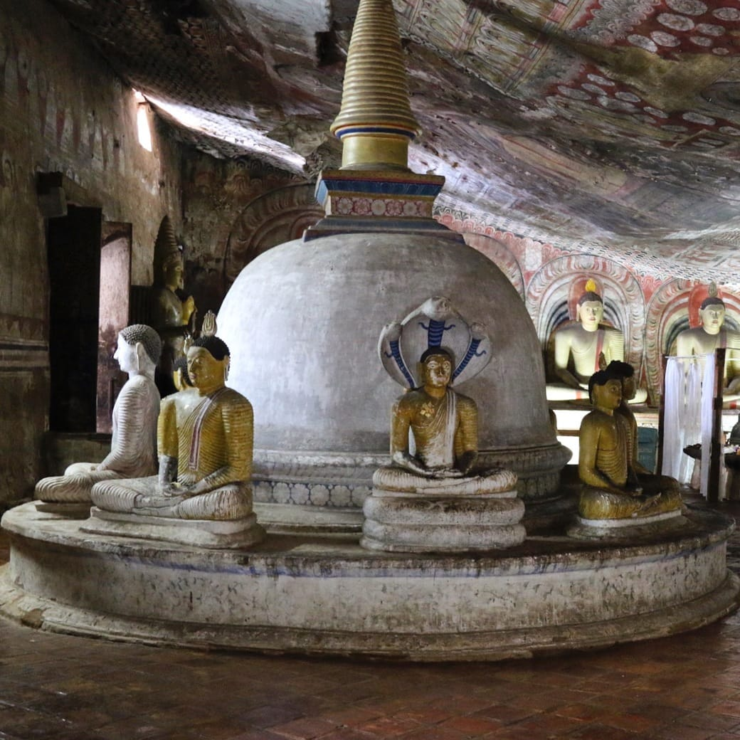 Image of the Dambulla Cave Temple