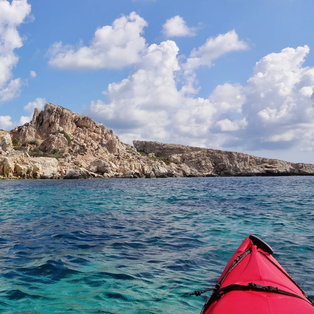 Image of sea kayaking