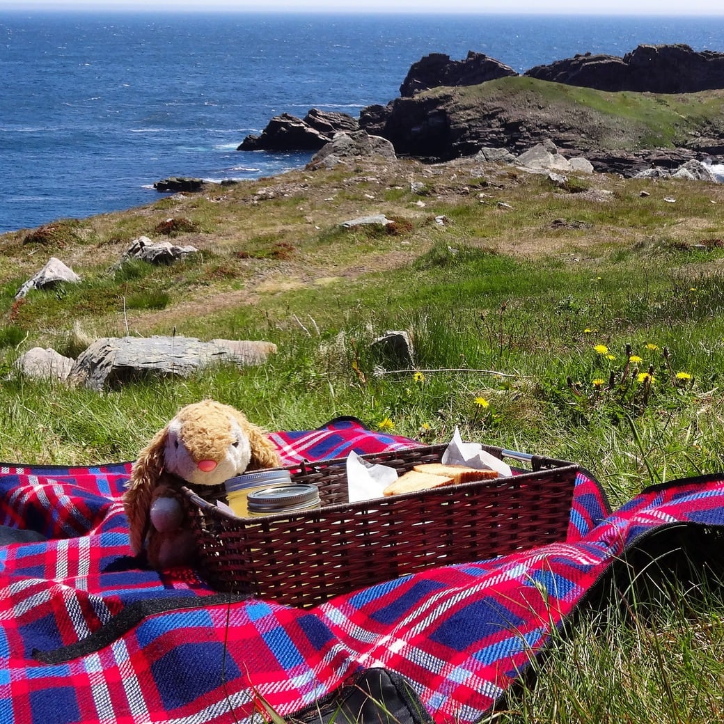 Image of a lighthouse picnic