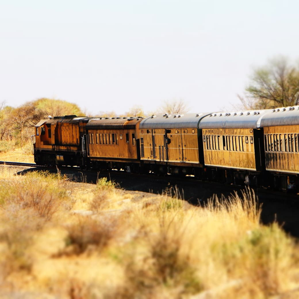 Image of the Rovos Rail