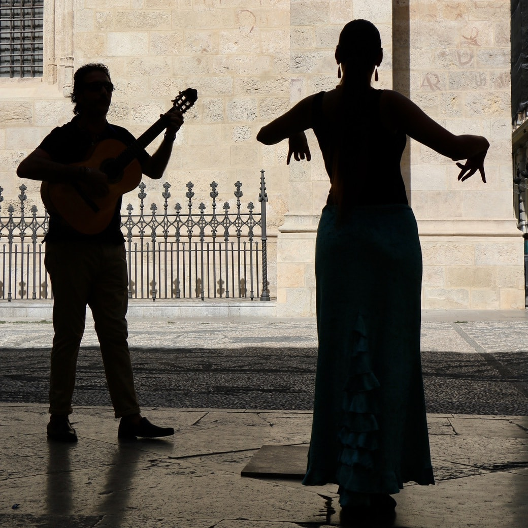 Image of a flamenco dancer