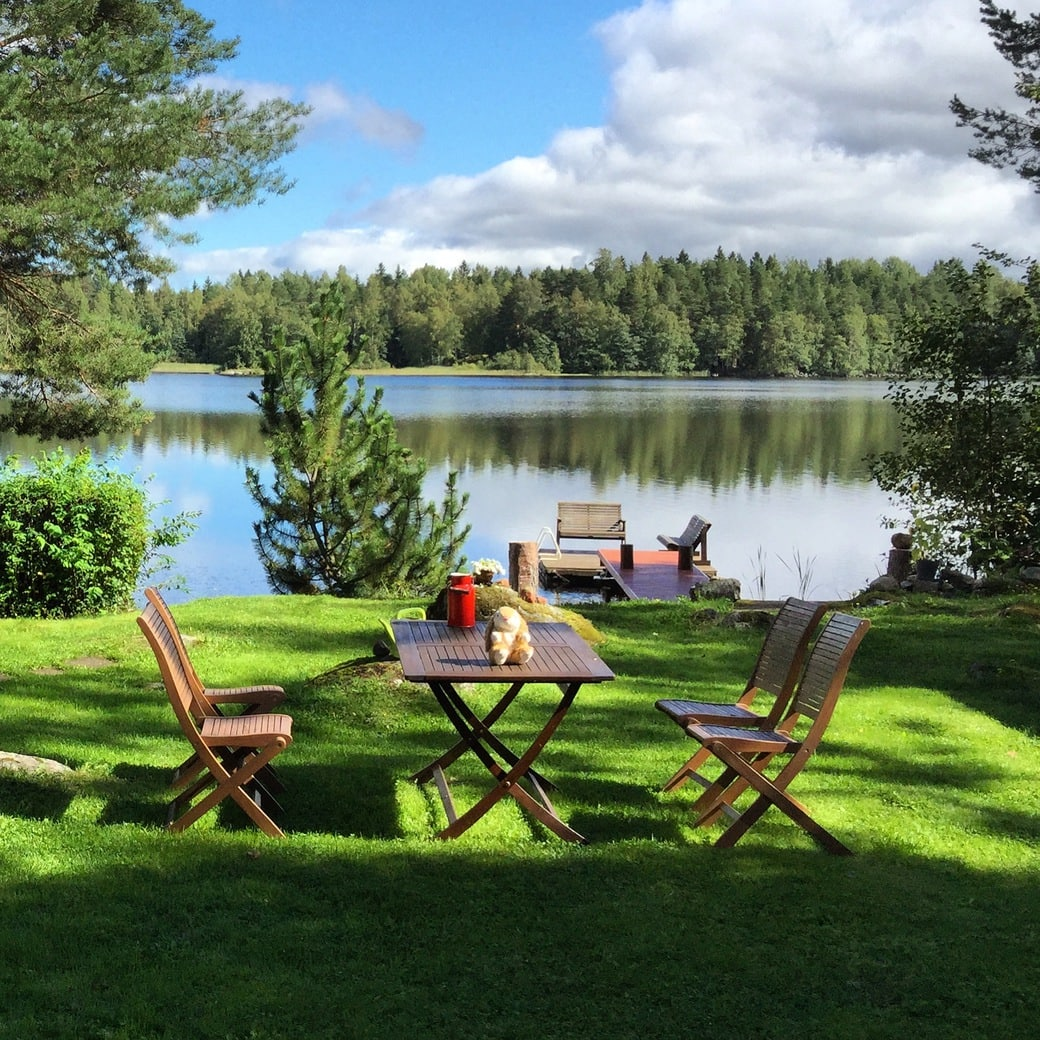 Image of a Finnish summer cottage