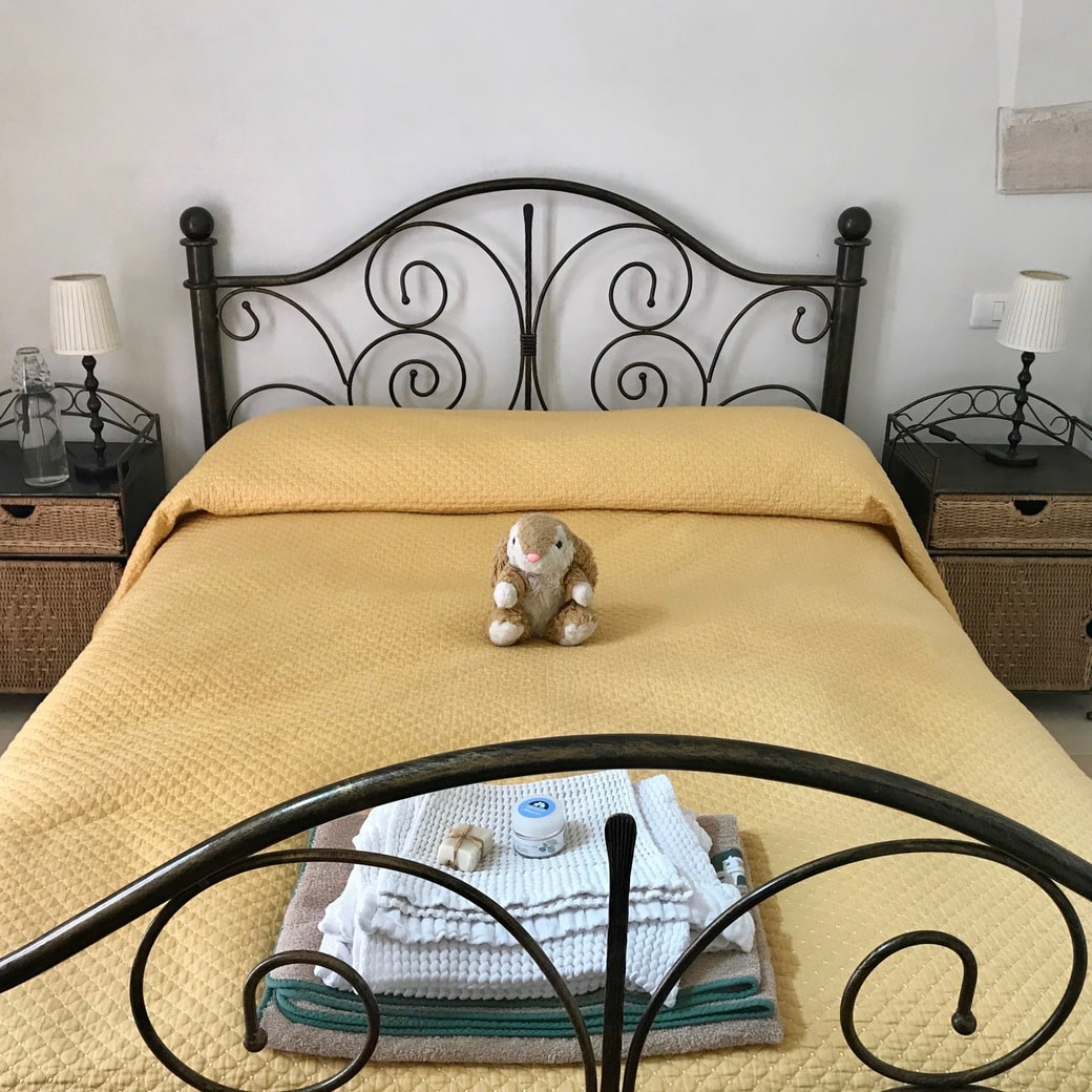 Image of bunny in her room