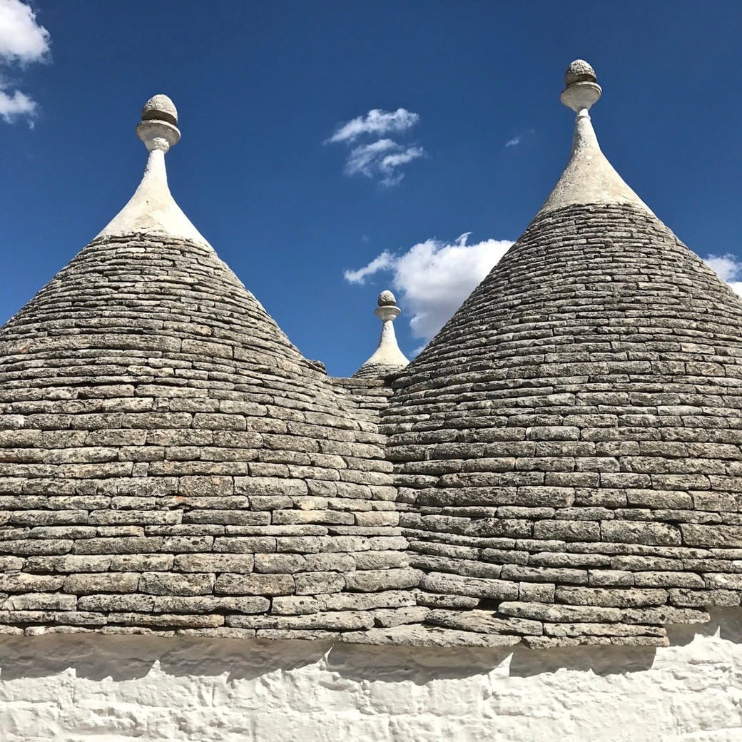 Image of trulli at Alberobello