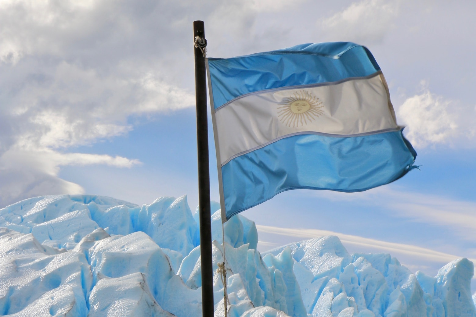 Image of Argentinian flag