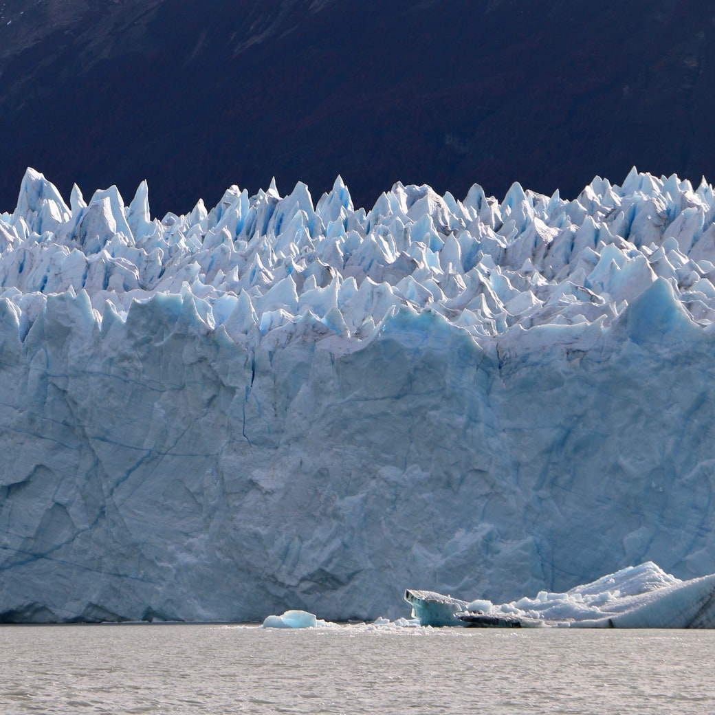 Image of ice wall at Perito Moreno