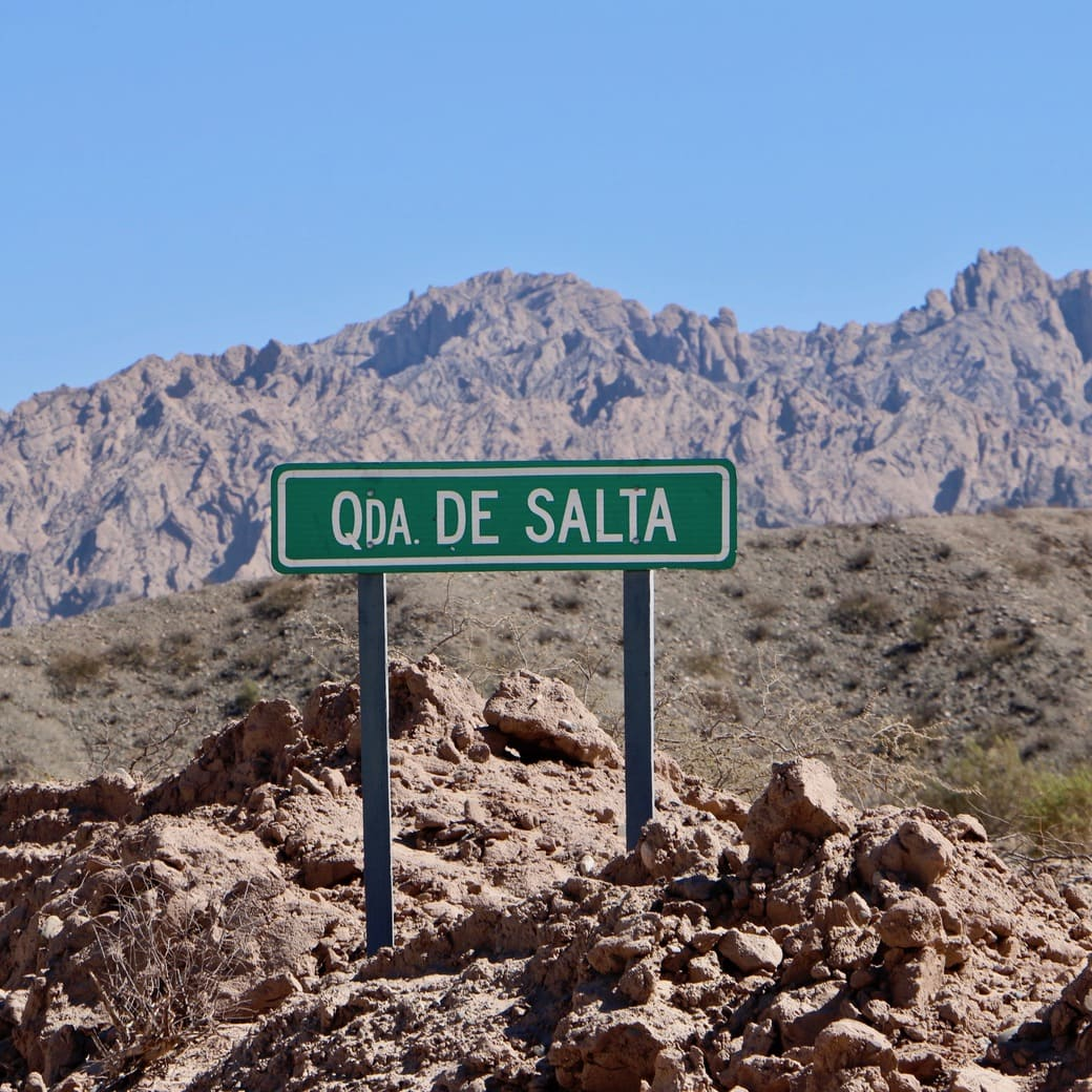 Image of Cafayate to Cachi road