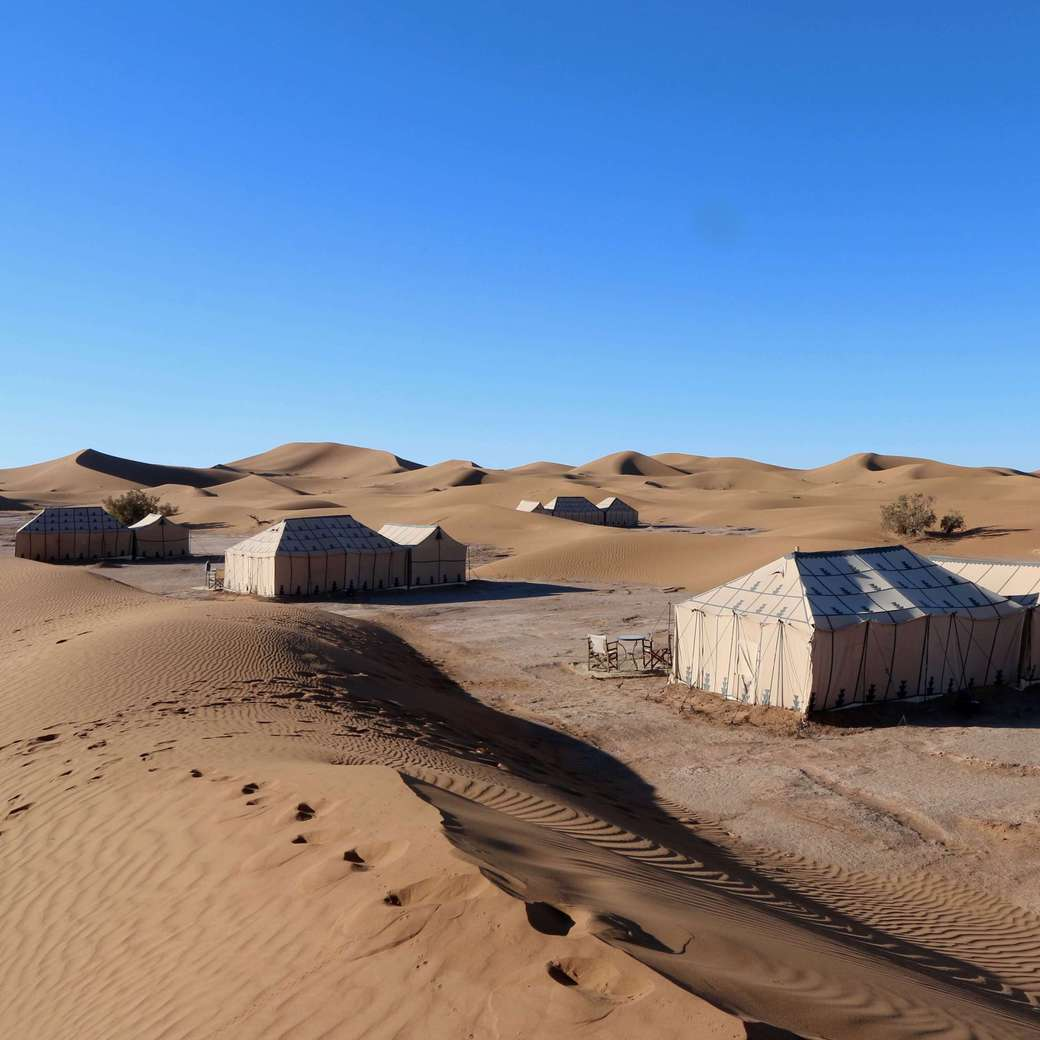 Image of luxury desert camp