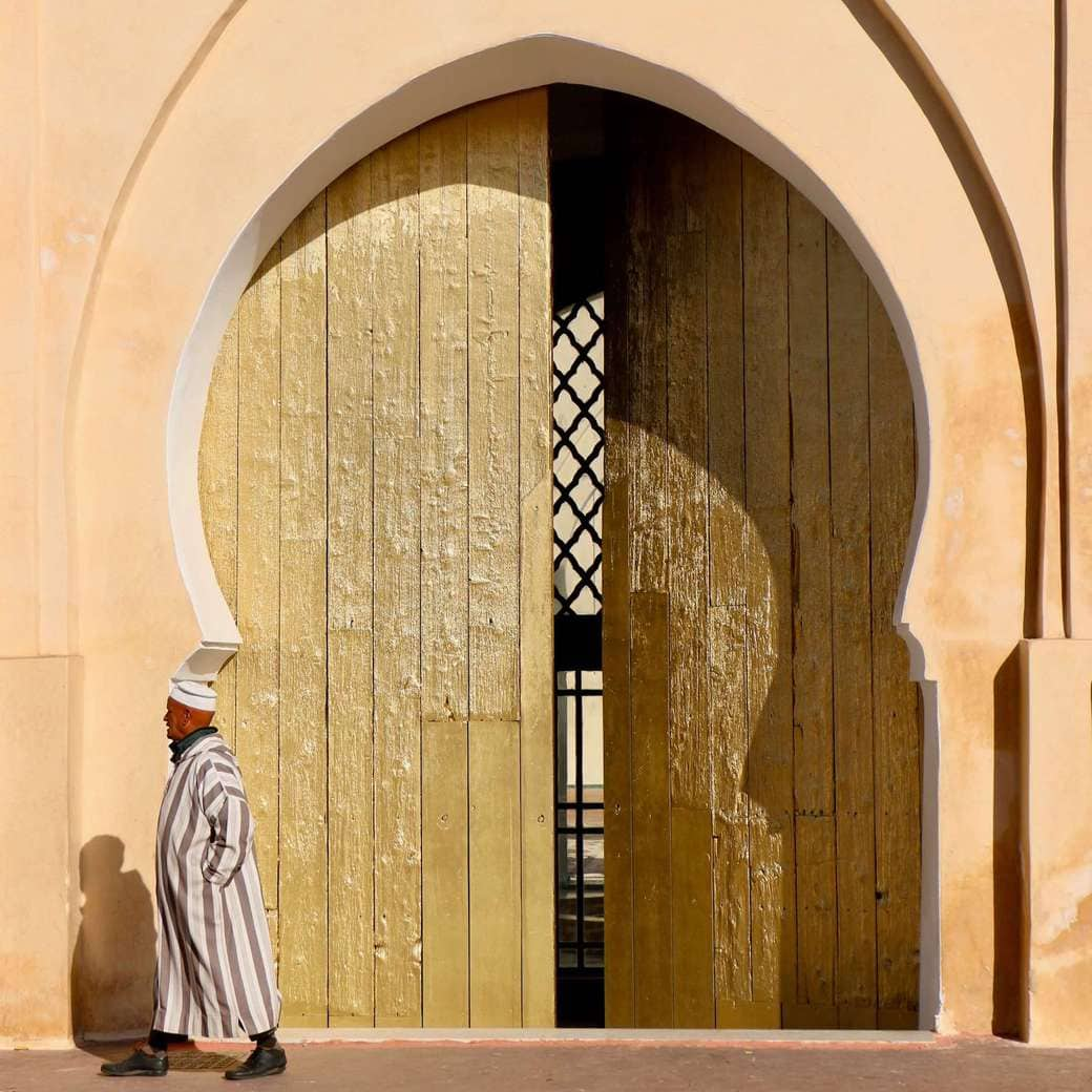 Image of Marrakech man