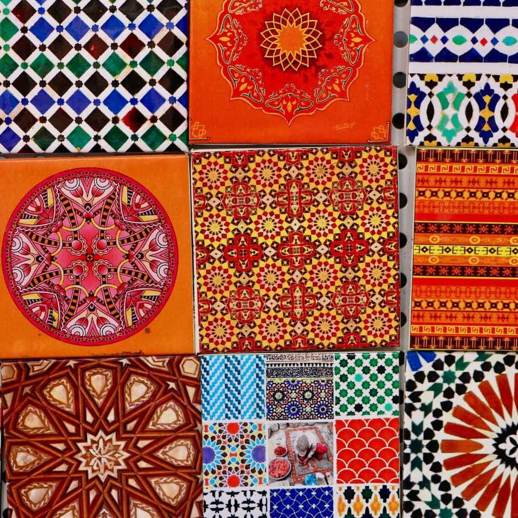 Image of Moroccan tiles