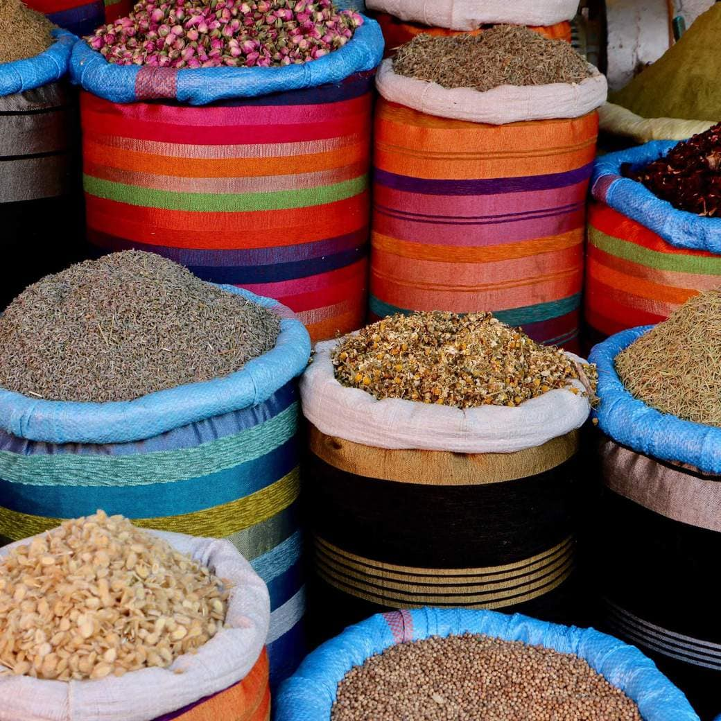 Image of Marrakech souk