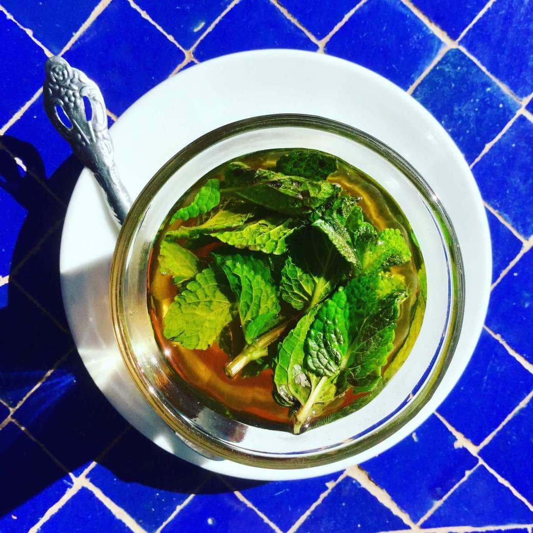 Image of sweet Moroccan tea
