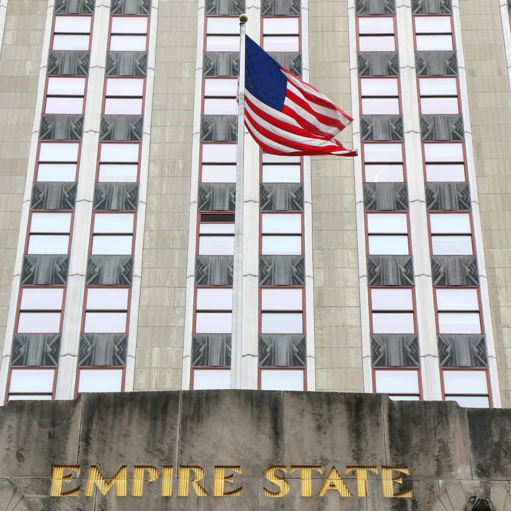 Image of flag at ESB