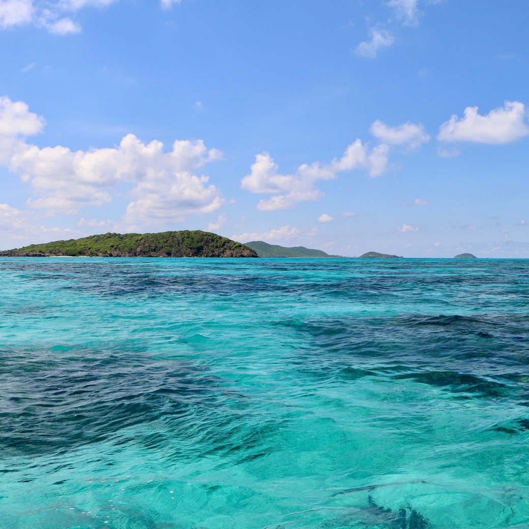 Image of turquoise water