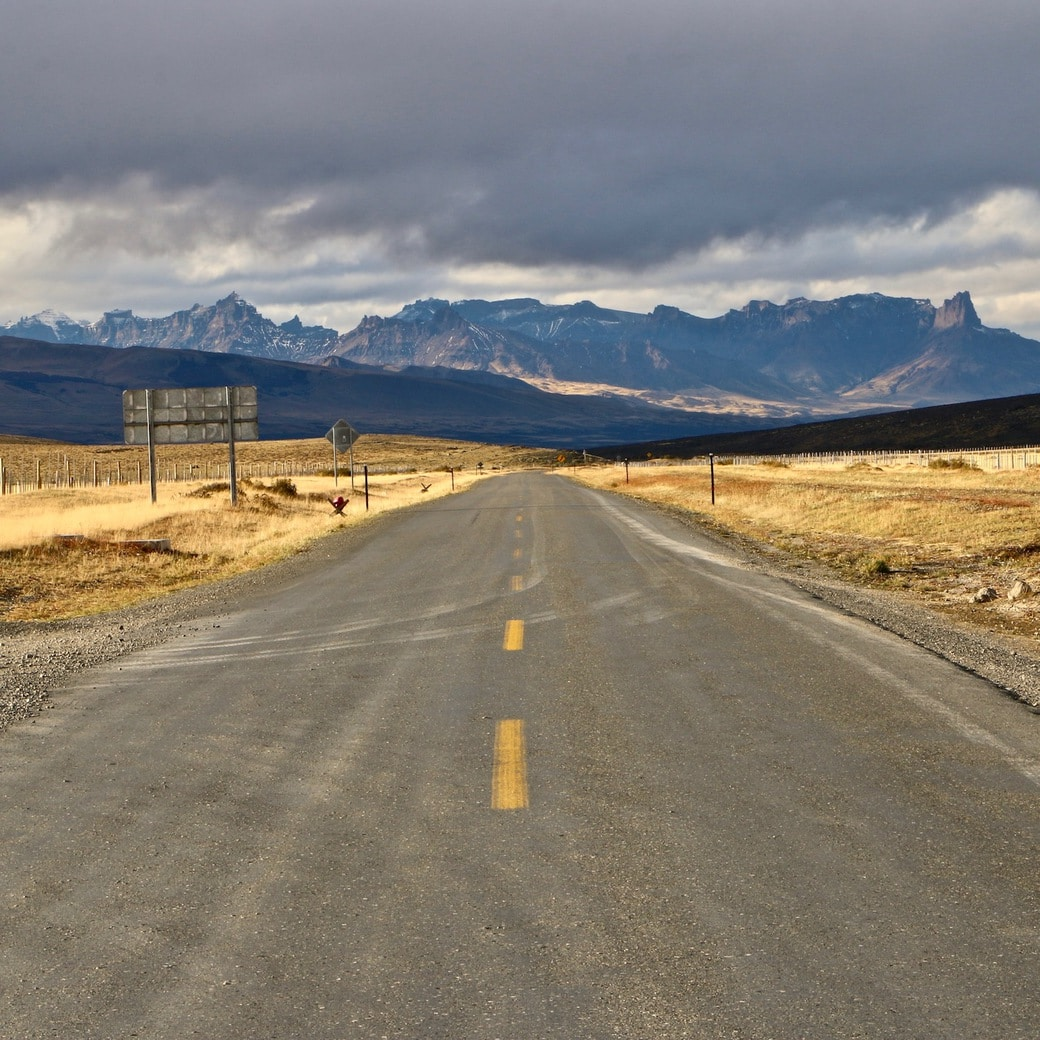 Image of Patagonian road