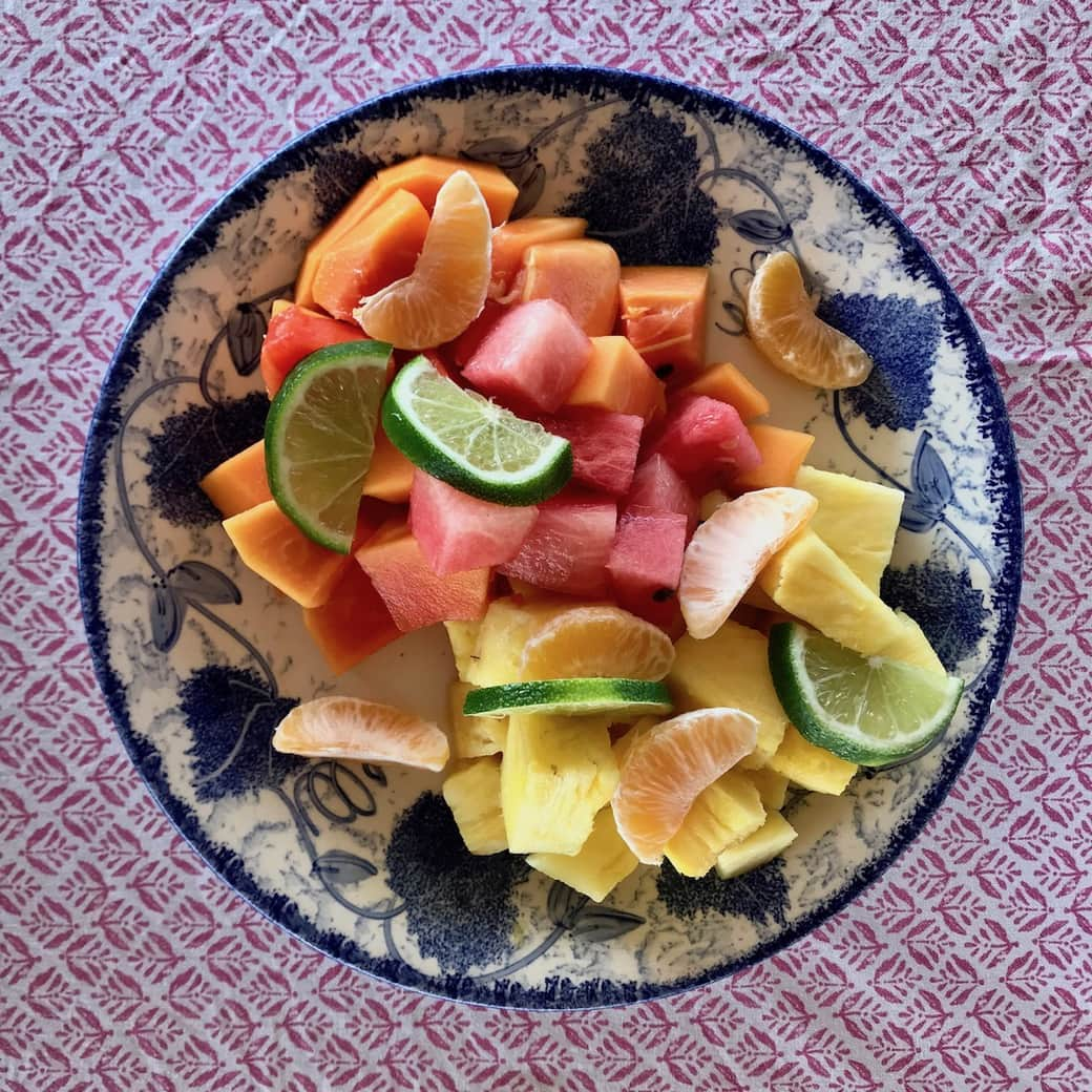 Image of fruit plate