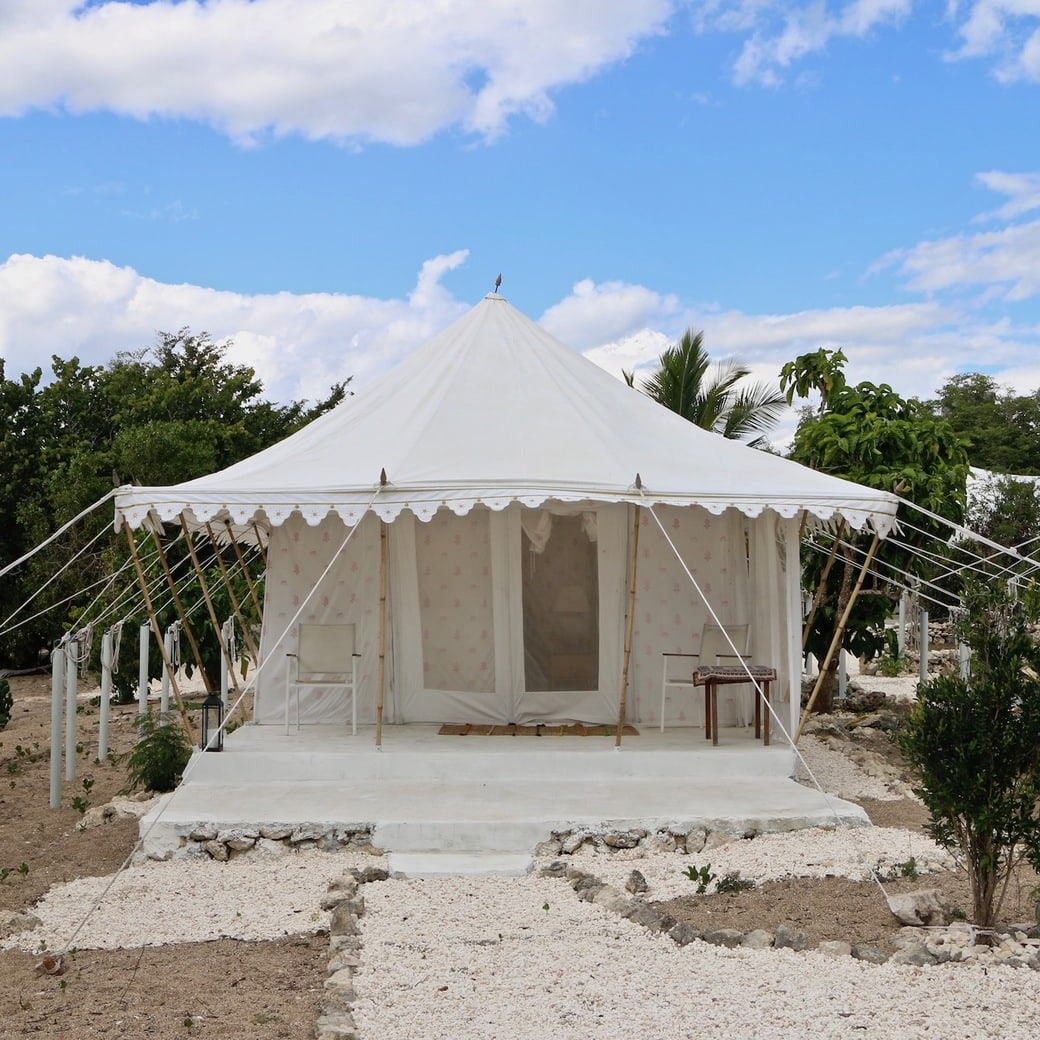 Image of Indian tent