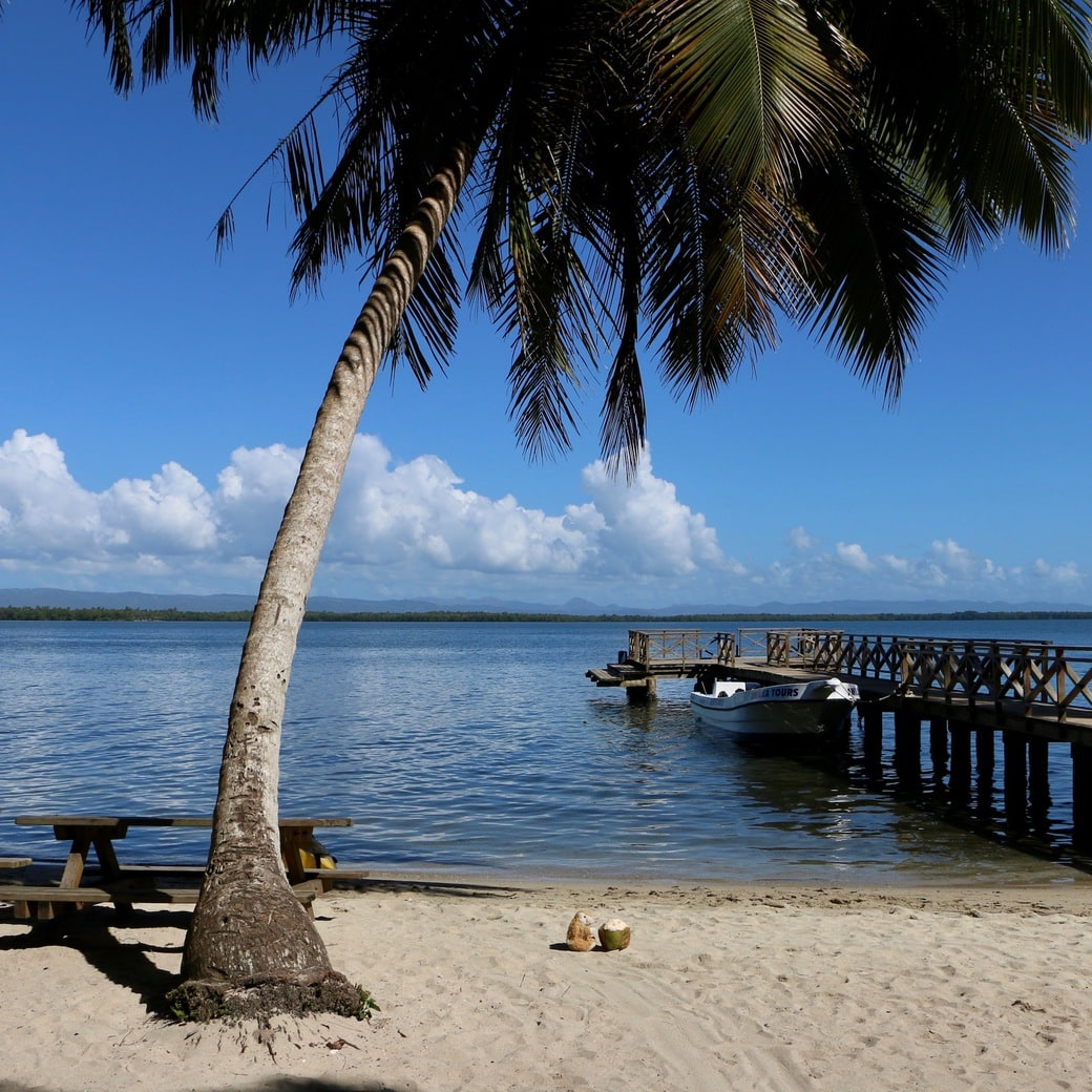 Image of Los Haitises beach