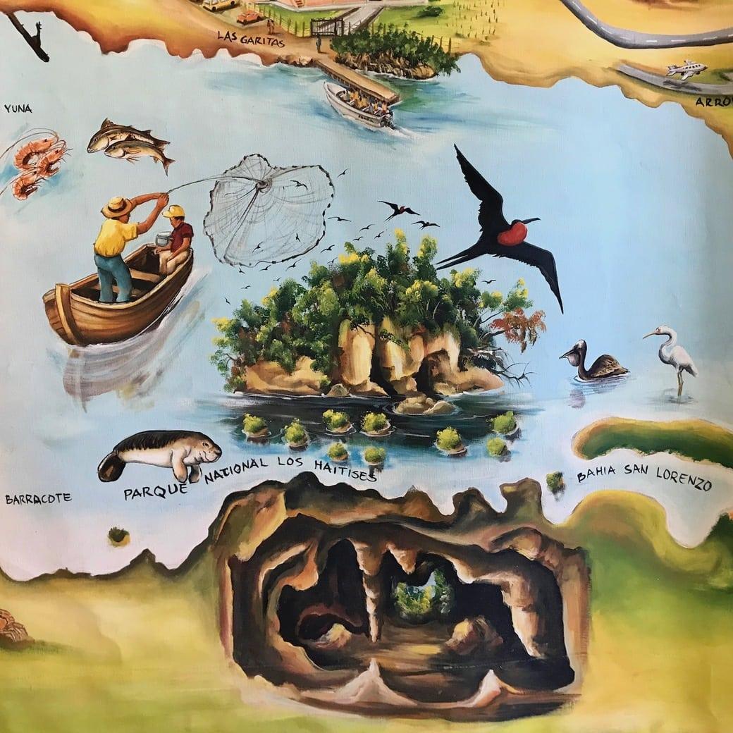 Image of Los Haitises map