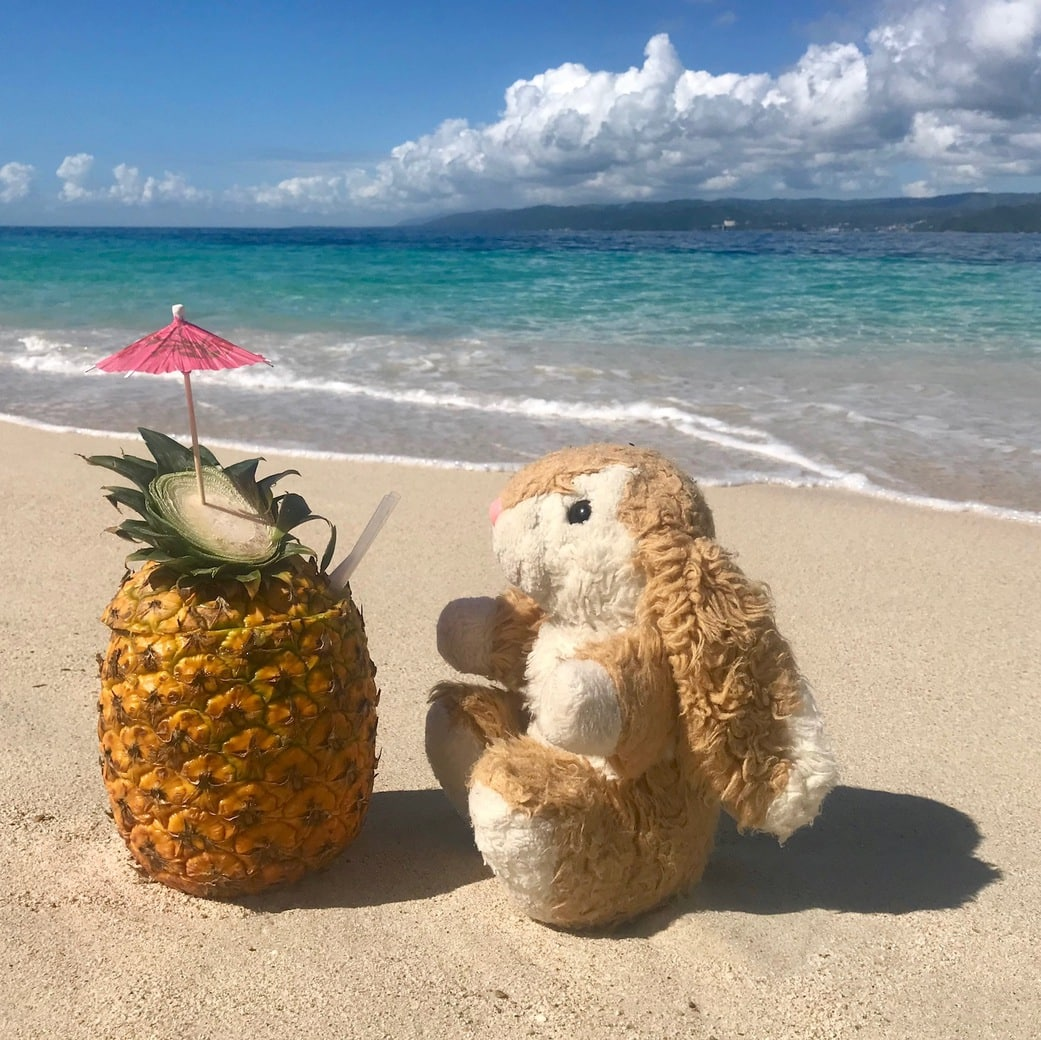 Image of pineapple drink