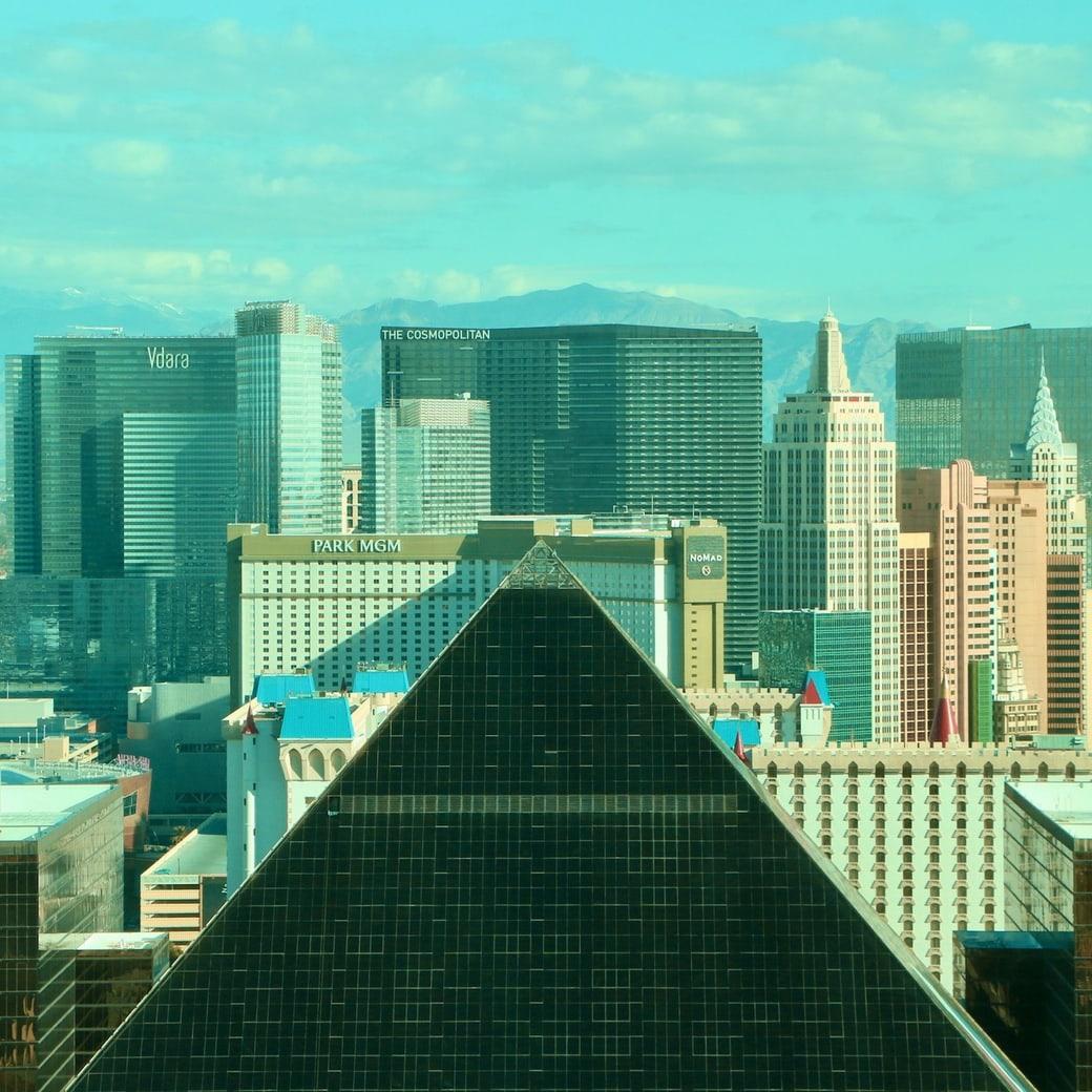 Pyramids in Las Vegas