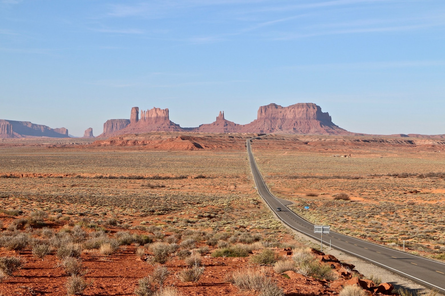 Monument Valley road trip at its best