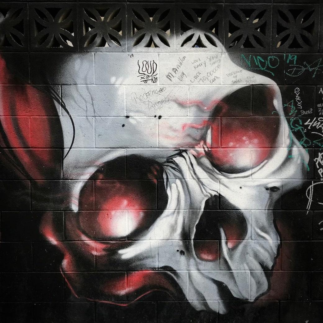 Street art on the Strip
