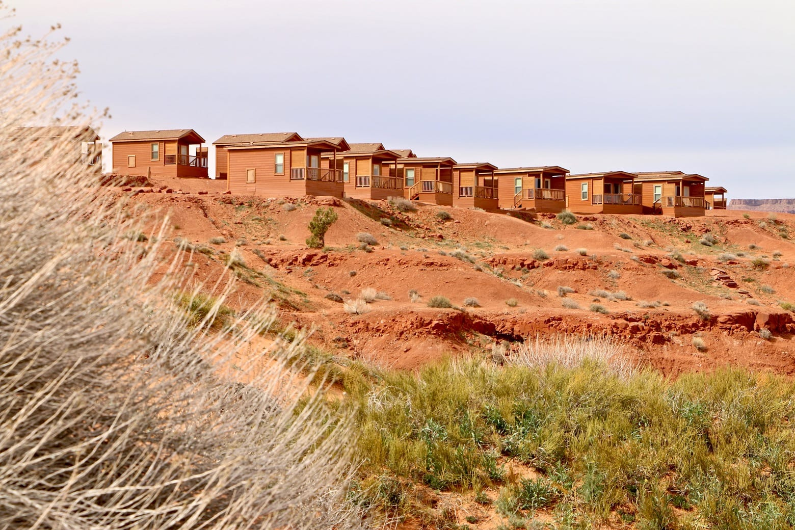 Monument Valley cabins