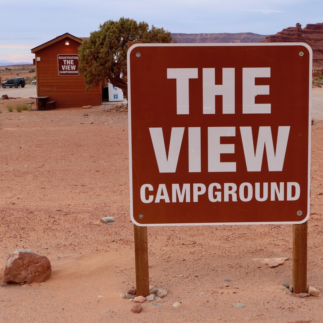 The View campground
