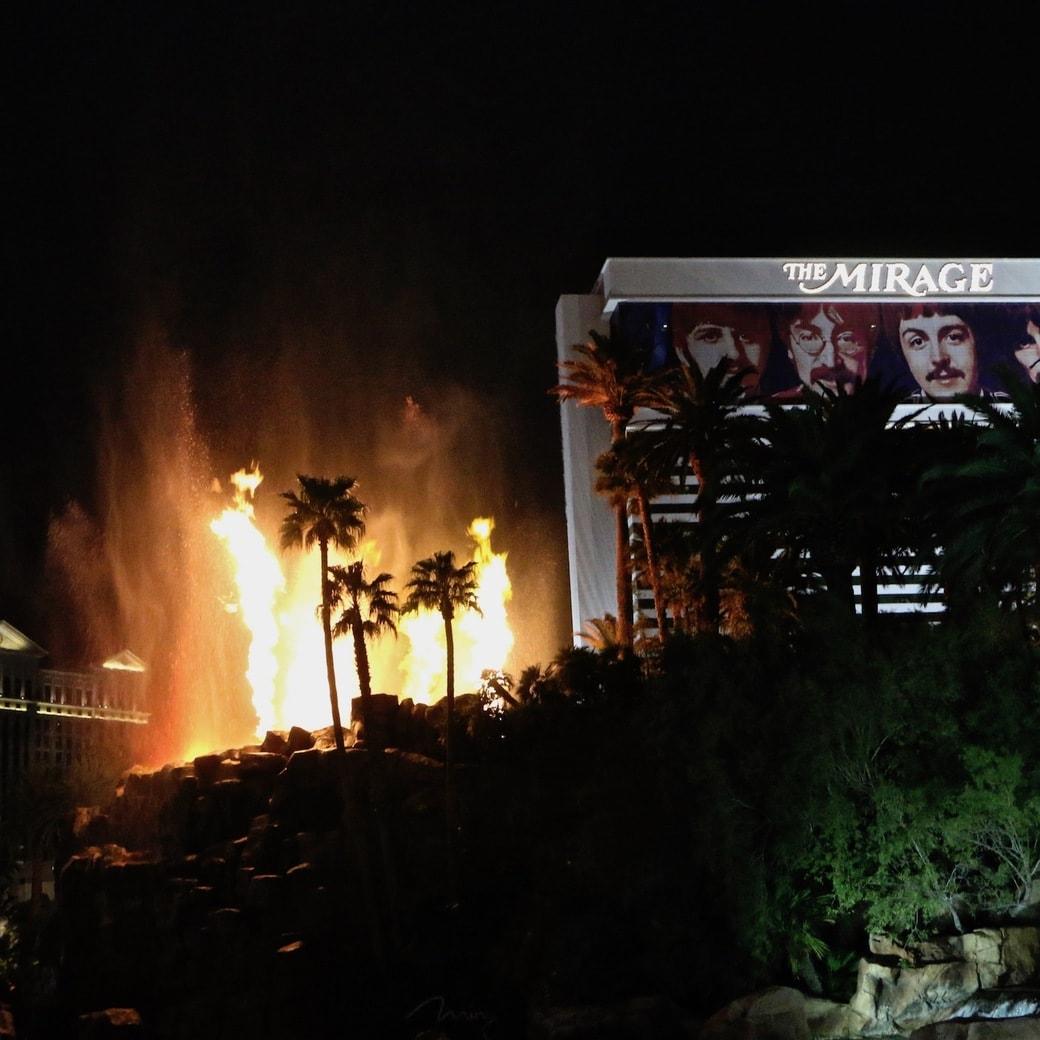 Las Vegas volcano