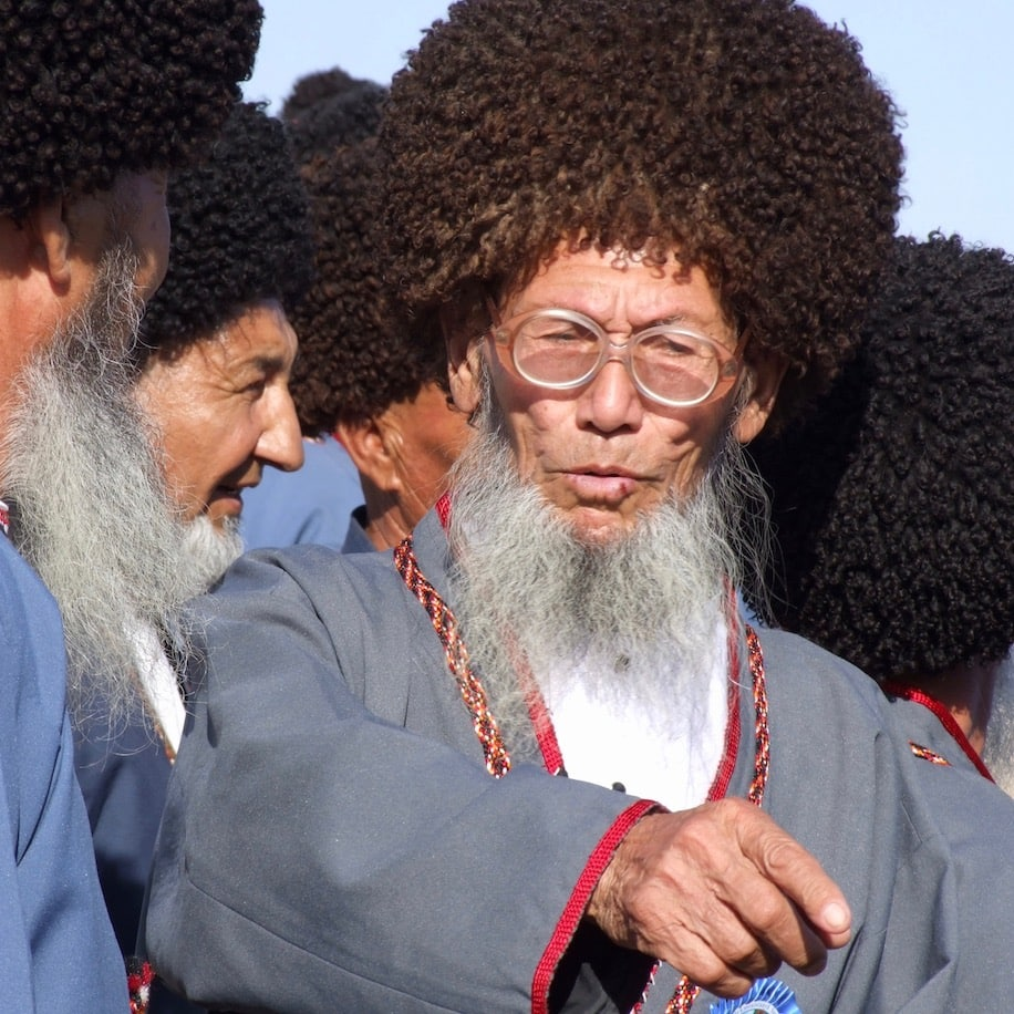 Wise elders in Central Asia
