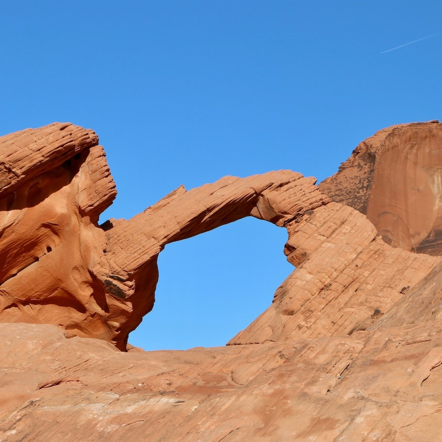 Arch Rock in Valley of Fire