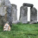 Inside the stone circle