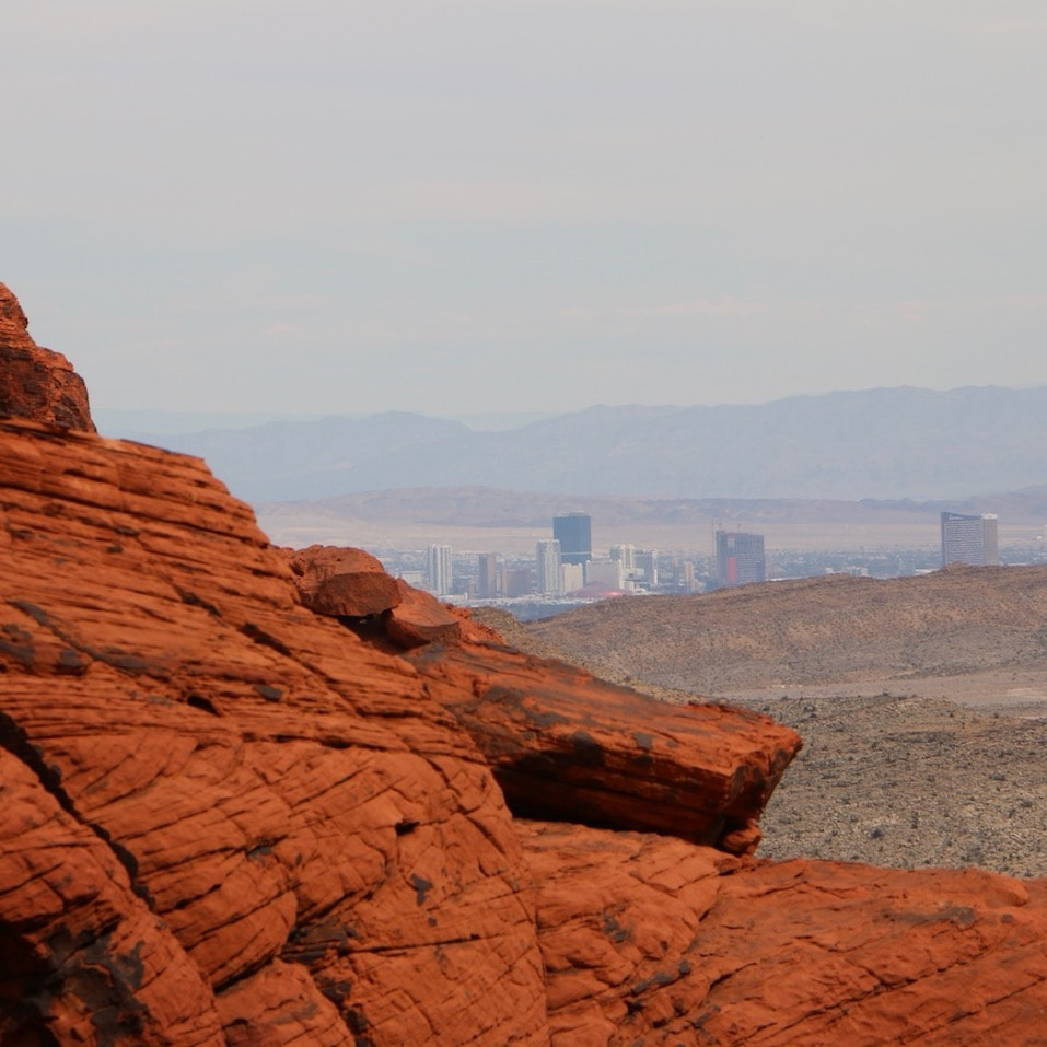 Red Rock Canyon is just a short hop from Vegas
