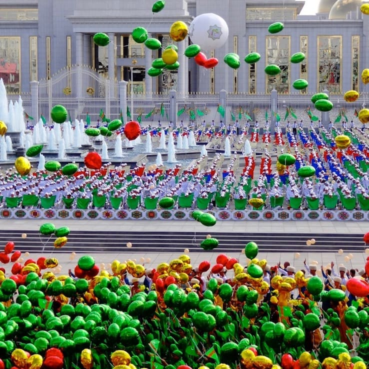 Independence Day in Ashgabat