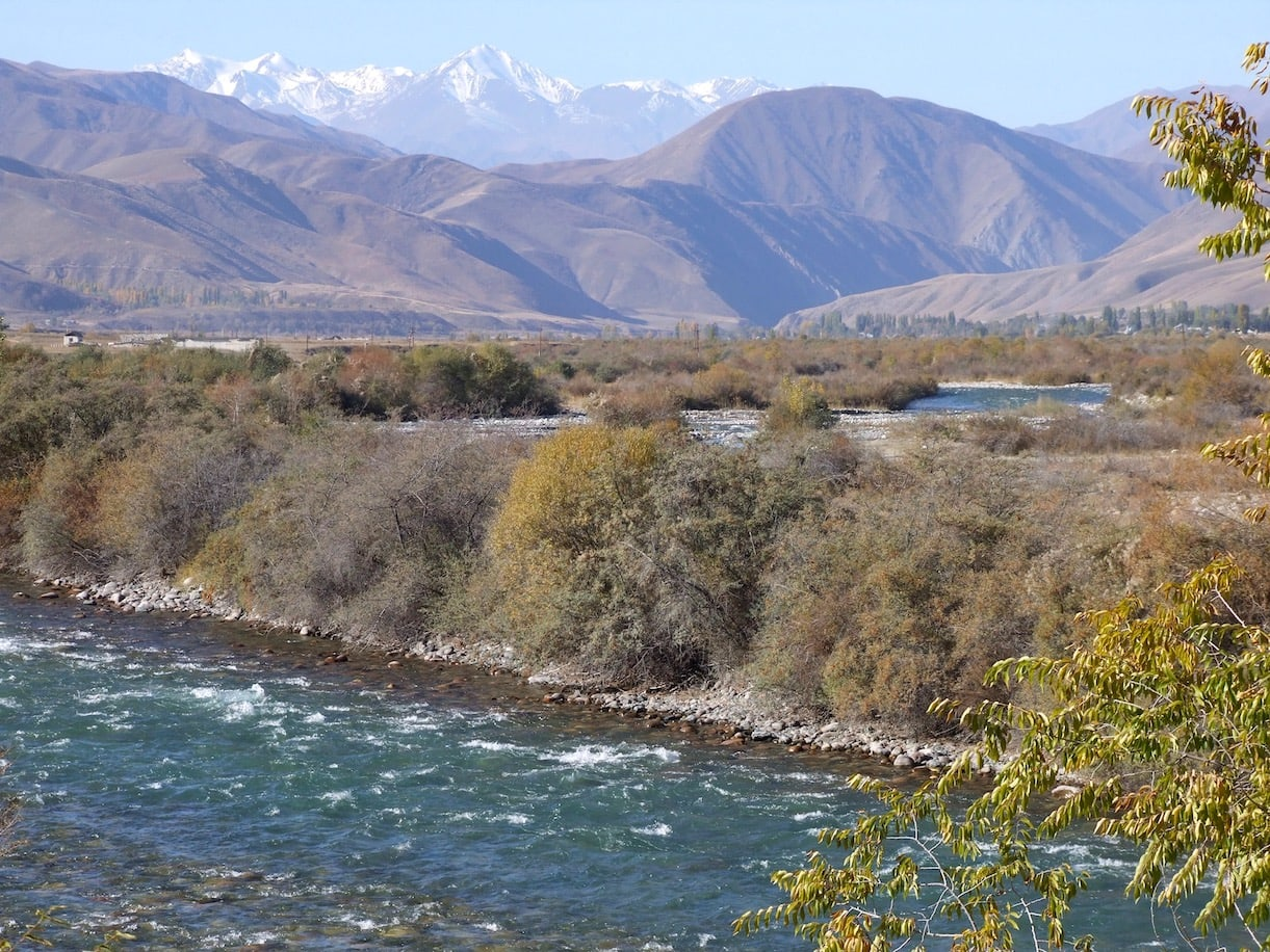 Gorgeous scenery in Kyrgyzstan