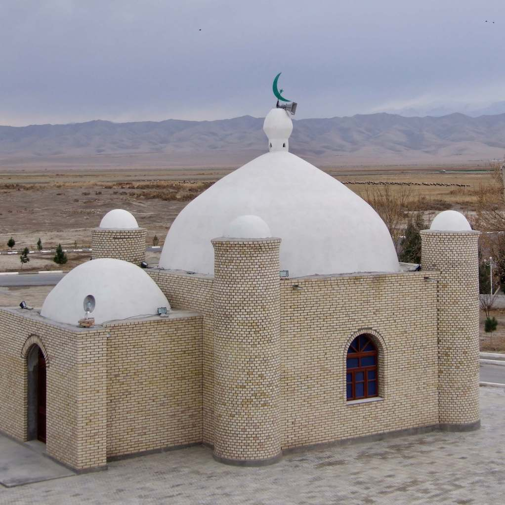 Small Central Asian mosque