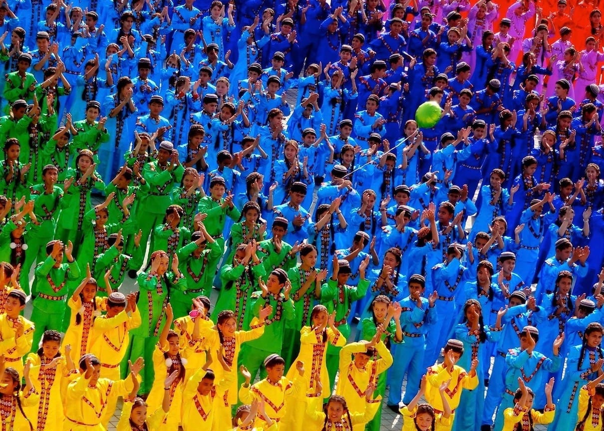 Celebrations in Turkmenistan