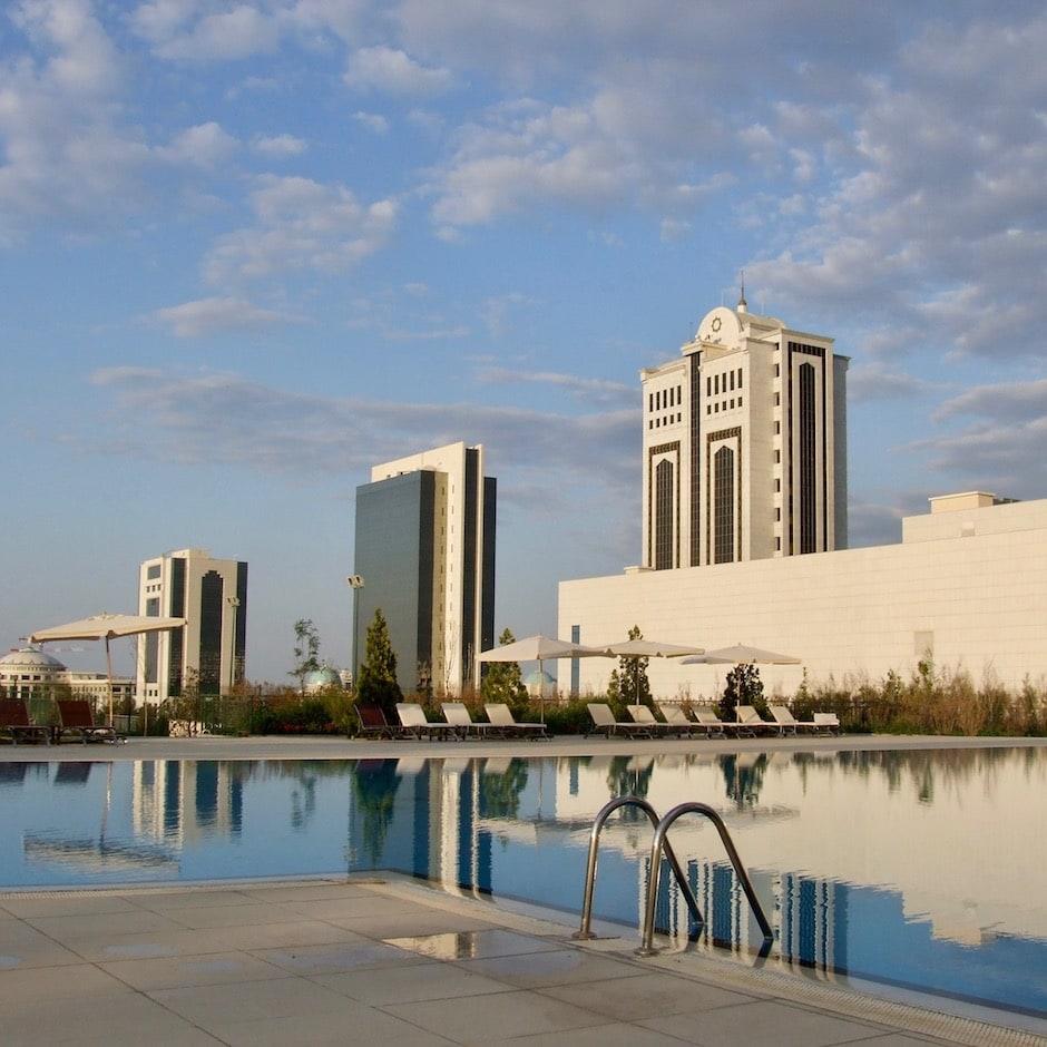 Oguzkent hotel in Ashgabat