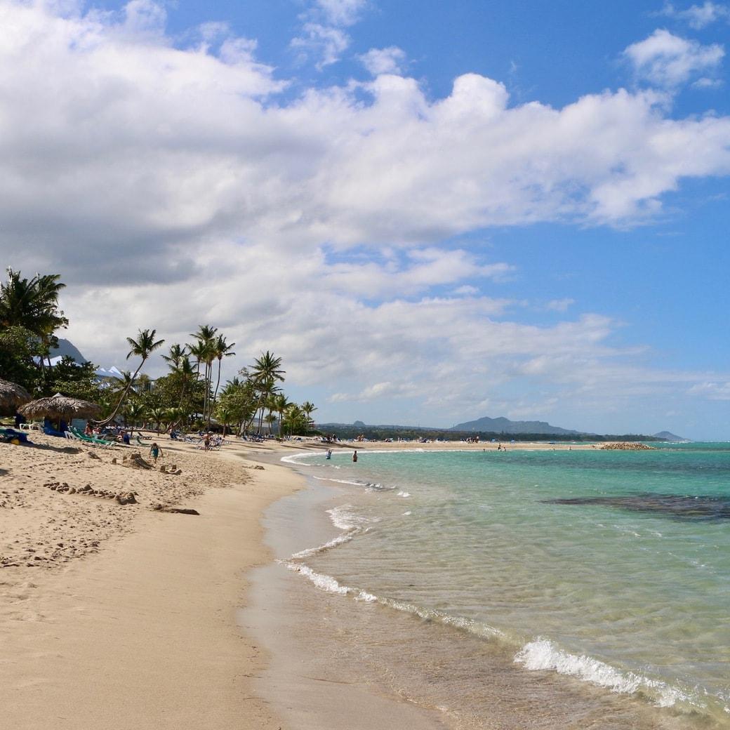 Playa Dorada on the Northern coast