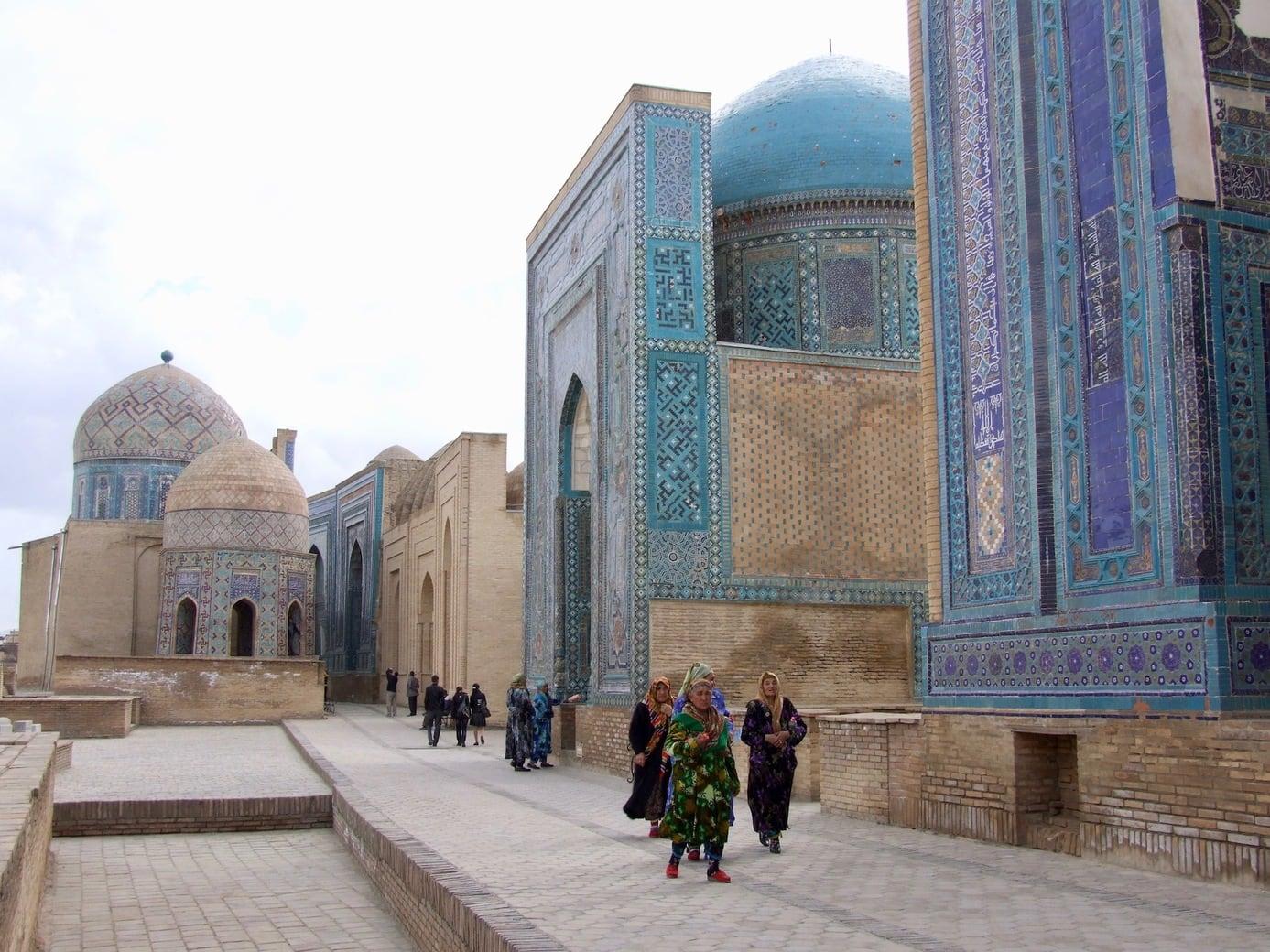 Shakhi Zinda complex in Samarkand