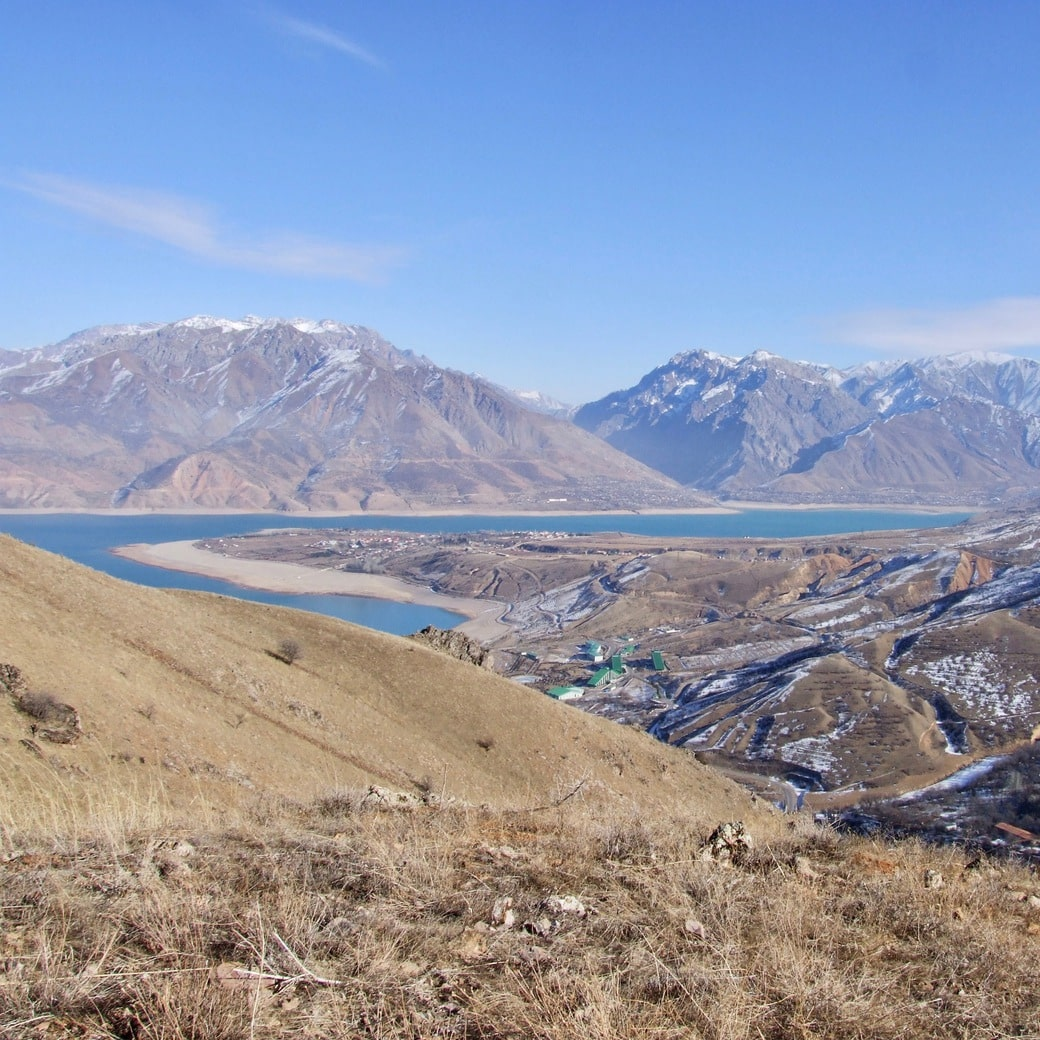 Beautiful scenery in Uzbekistan