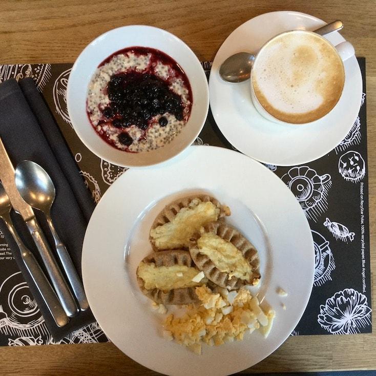 Lilla Roberts' breakfast