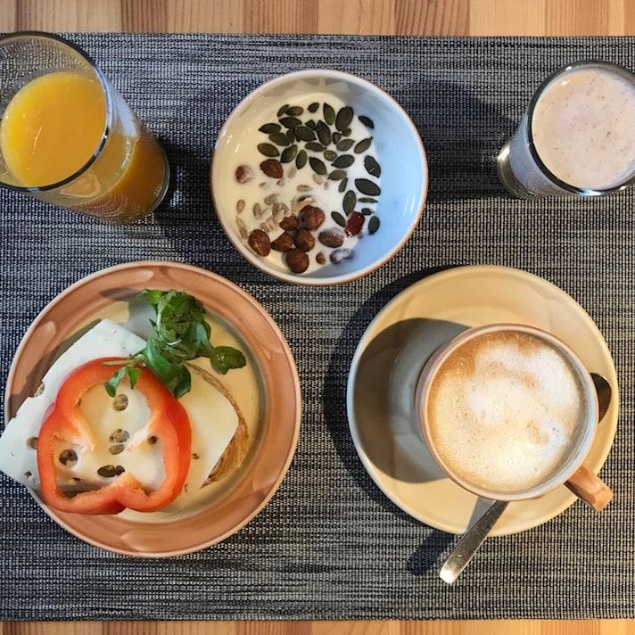Breakfast at Hotel St. Petersbourg